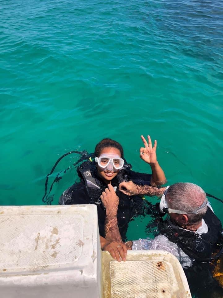 Baptème de plongée à Salary Bay