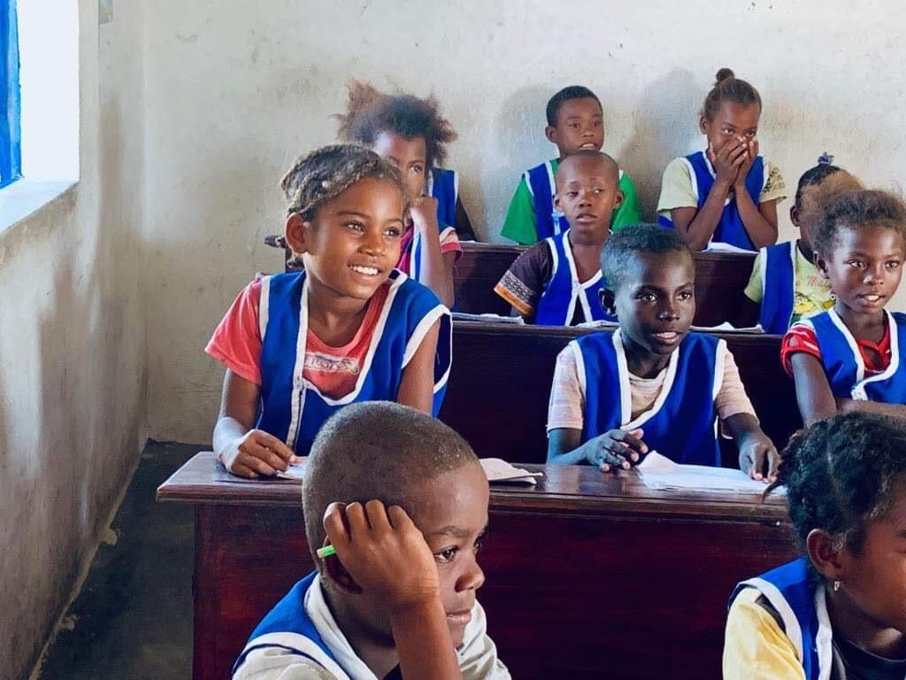 Les Enfants de Salary Bay en classe