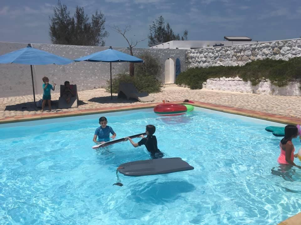 La piscine de l'Hôtel Salary Bay, Sud Ouest Madagascar