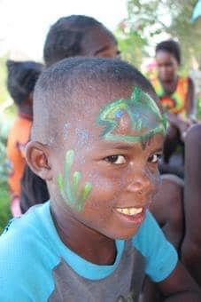 Un grand sourireaprès la classe verte