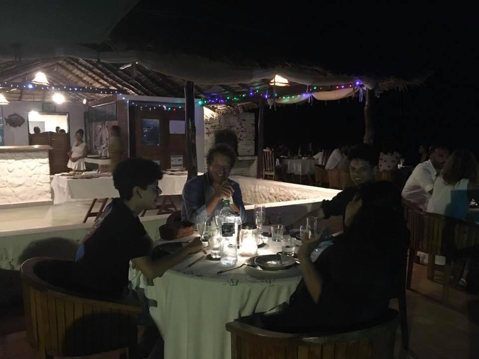 Un soir à salary Bay Sud Ouest de Madagascar